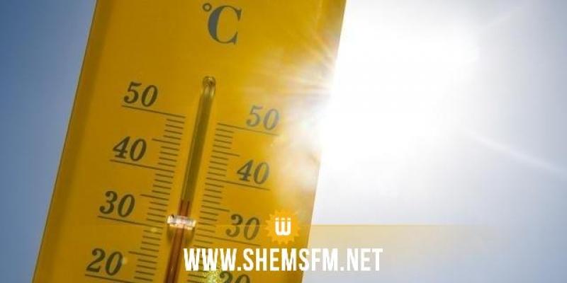 الحرارة تصل اليوم إلى 43 درجة