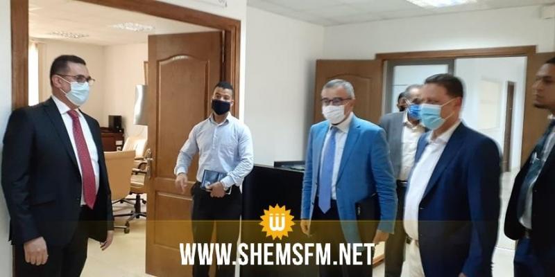 لجنة المالية  تؤدي زيارة ميدانية إلى مقر شركة  الكرامة القابضة