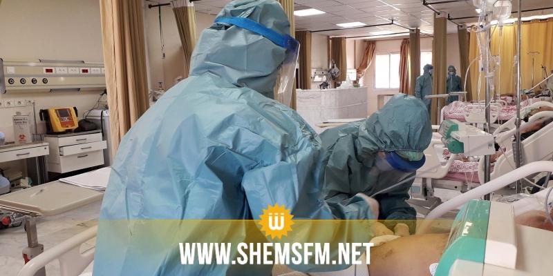 ت ونس: تسجيل 86 حالة وفاة خلال 24 ساعة  بفيروس كورونا