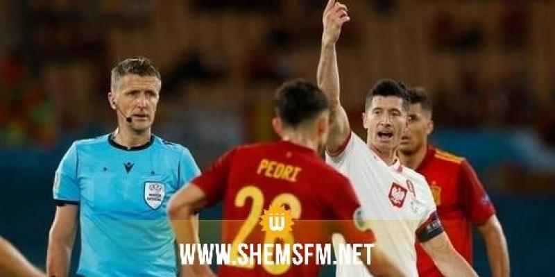 كأس أوروبا : تعادل اسبانيا مع بولونيا