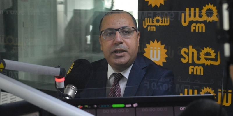 المشيشي مهنئا أبناء شمس أف أم: 'ديمومة إذاعتكم من دعائم الإعلام الحر في تونس'