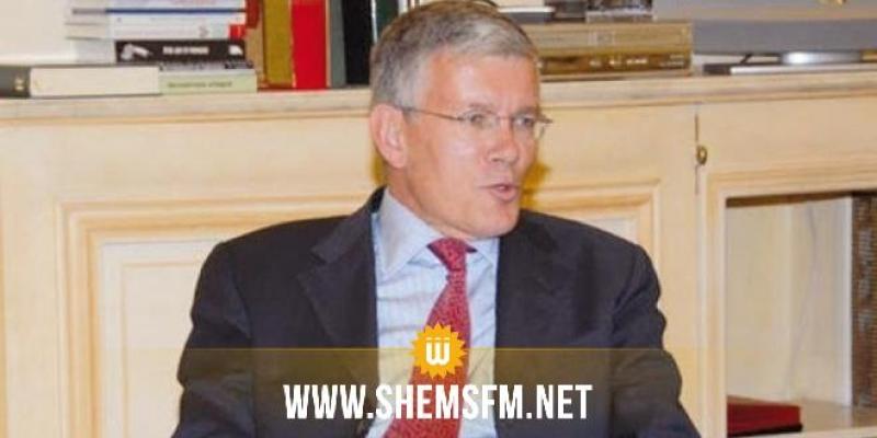 السفير الفرنسي: تونس لم تطلب أبدا من فرنسا الاستفادة من تخفيف ديونها