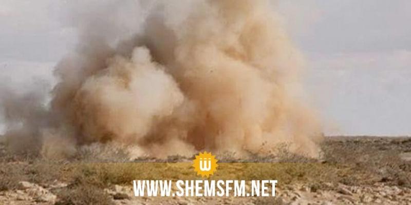 القصرين: وفاة شاب في انفجار لغم
