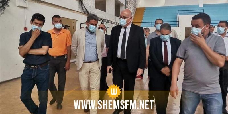 باجة: بداية تركيز المستشفى الميداني