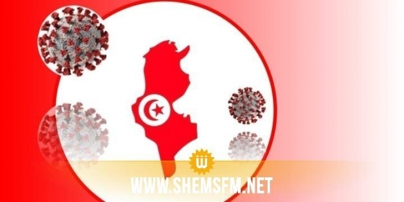 كورونا: تسجيل 95 حالة وفاة و3638 إصابة جديدة في تونس