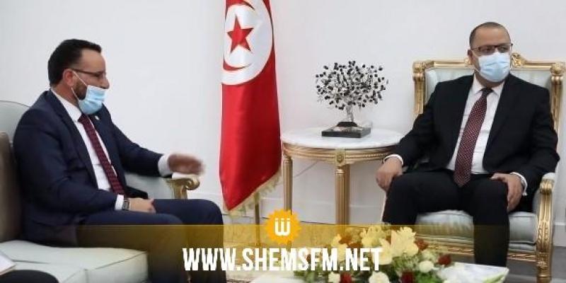 خلال لقائه المشيشي: وزير الصناعة الليبي يؤكد الإنطلاق رسميا في تنفيذ البرامج التي تم الاتفاق عليها خلال زيارة الوفد التونسي