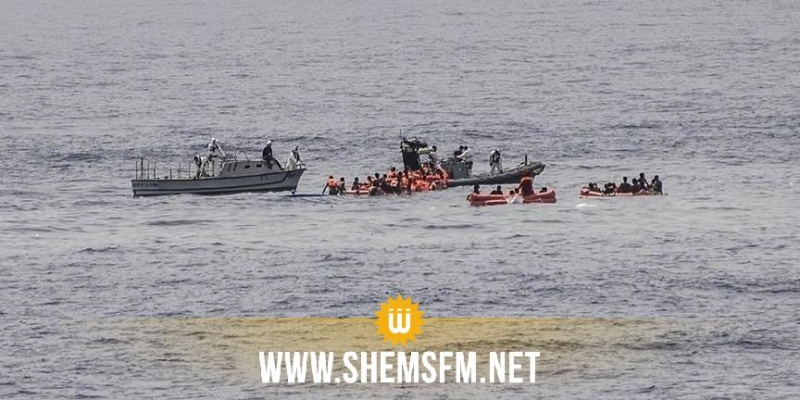 هجرة غير نظامية: انقاذ عشرات المجتازين من الغرق والقبض على 305 أشخاص
