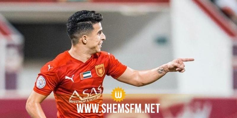 نادي عجمان يتعاقد رسميا مع لاعب النجم الساحلي فراس بالعربي