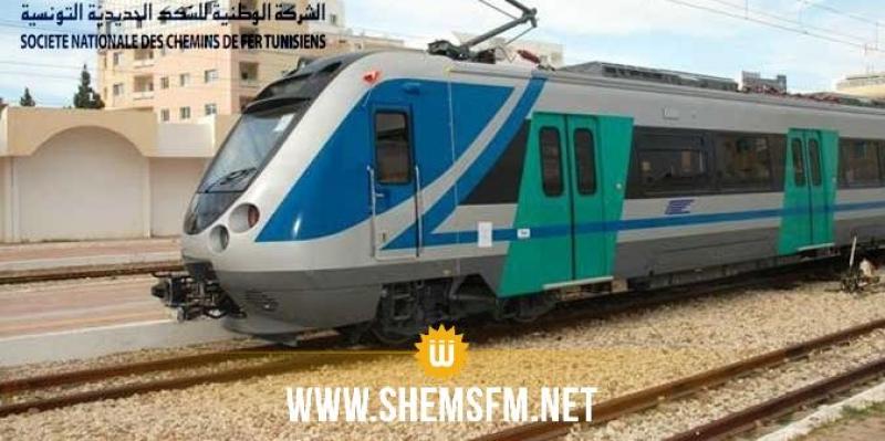 Le trafic de trains sur la ligne Tunis - Erriadh se fera toutes 30 min durant les weekends