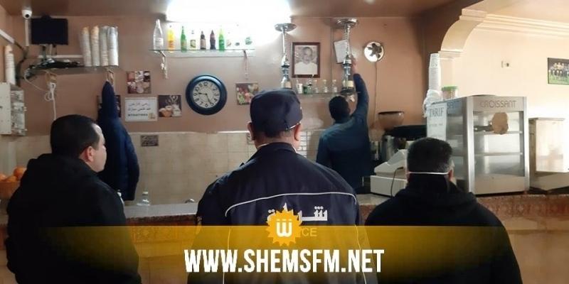 صفاقس: غلق مقهى خالف قواعد الحجر الصحي