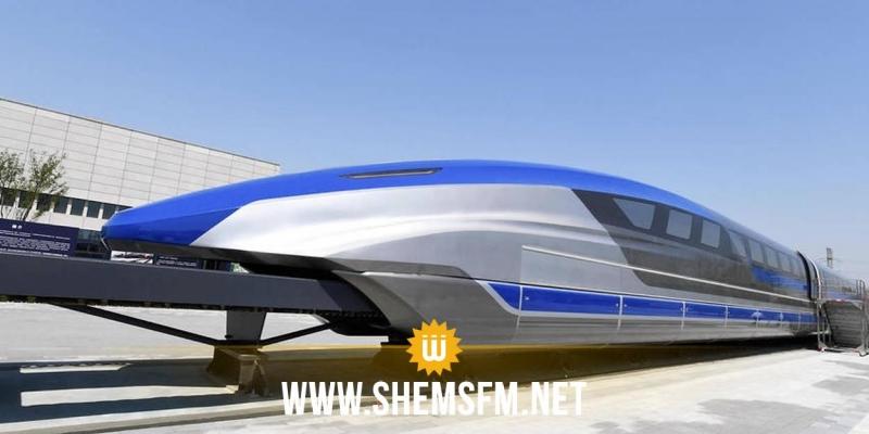 Le premier train à sustentation magnétique à grande vitesse au monde sort de la chaîne de production
