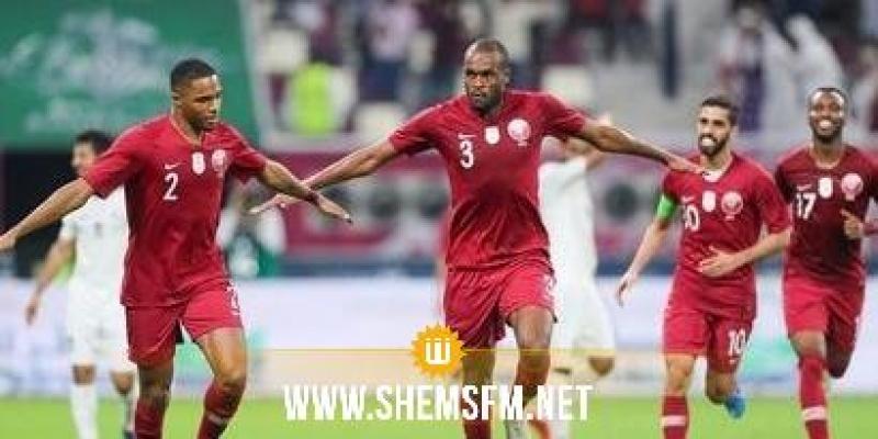 المنتخب القطري يتأهل إلى الدور ربع النهائي للكأس الذهبية