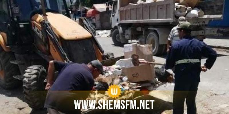 بلدية باجة: رفع 315 طنا من فضلات  أضاحي العيد