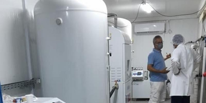 تطاوين: انطلاق عمل وحدة إنتاج الأكسيجين بالمستشفى الجهوي