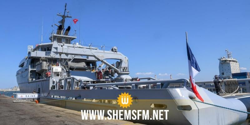 وصول باخرة عسكرية فرنسية محملة بالأكسجين لميناء رادس عصر اليوم