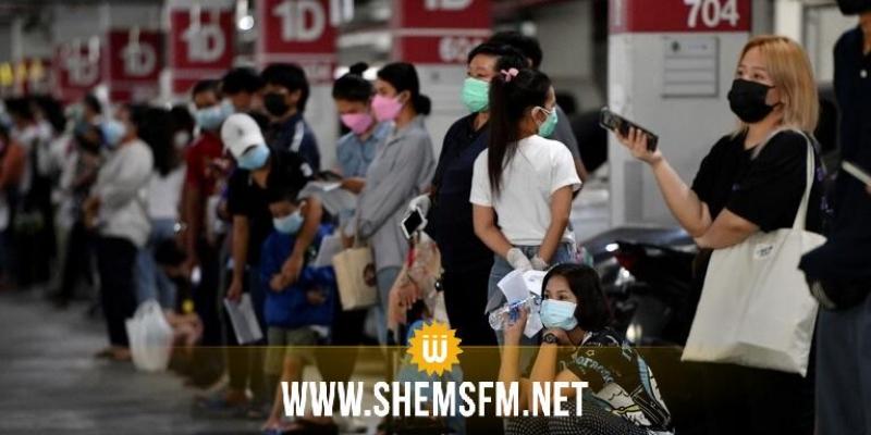 تايلاند تسجل ارتفاعا قياسيا في عدد الإصابات بكورونا