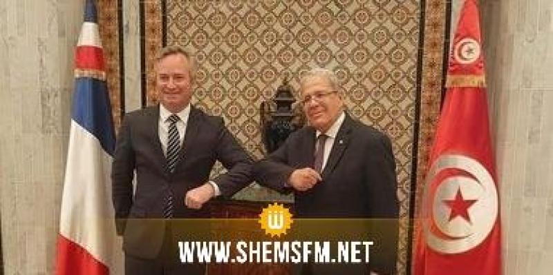 عثمان الجرندي يلتقي كاتب الدولة لدى وزير أوروبا والشؤون الخارجية الفرنسي