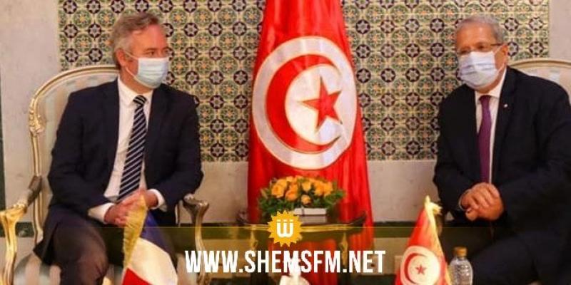 Jerandi s'entretient avec le secrétaire d'Etat français du Tourisme, des Français de l'étranger et de la Francophonie