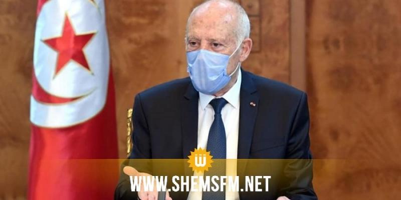 قيس سعيد: سيتم تلقيح 5 ملايين تونسي خلال الاسابيع القادمة