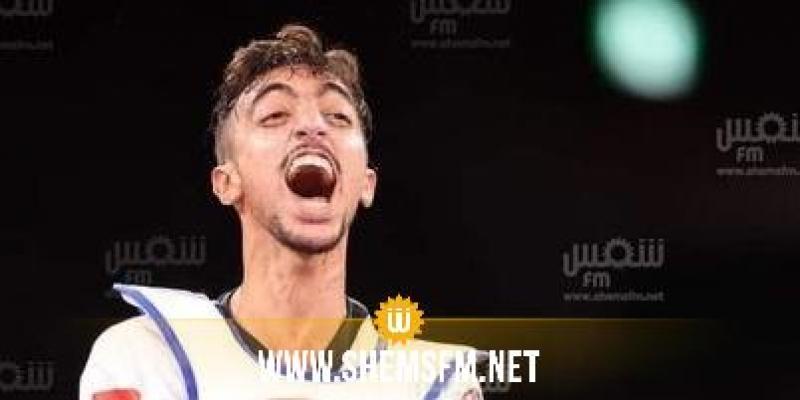 الأولمبياد-تايكواندو: محمد خليل الجندوبي  يكتفي بميدالية فضية