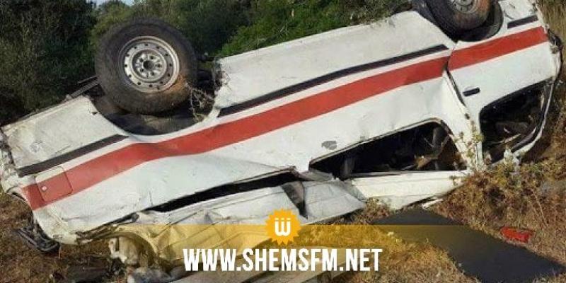 تستور: 9 مصابين في حادث سقوط 'لواج' في  حفرة