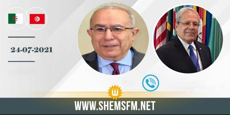 التنسيق حول أهم القضايا الدولية والإقليمية أبرز محاور مكالمة هاتفية بين وزير الخارجية ونظيره الجزائري