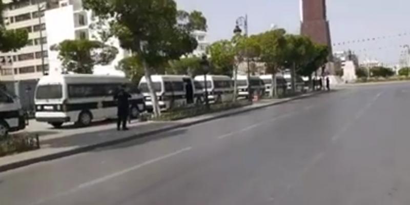 العاصمة: غلق كل مداخل شارع الحبيب بورقيبة