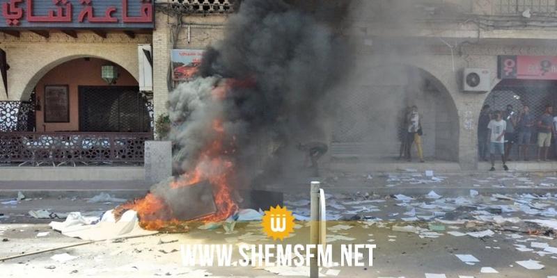 توزر: اقتحام مقر حركة النهضة وتهشيم محتوياته
