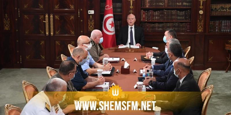 عاجل: رئيس الجمهورية يقرر تجميد كل اختصاصات البرلمان ورفع الحصانة عن النواب