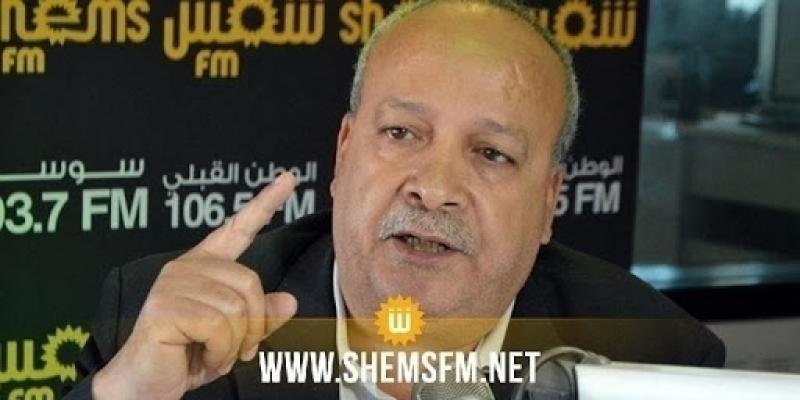 الطاهري: 'من الضروري أن يراجع قيس سعيّد قرار ترؤسه للنيابة العمومية'
