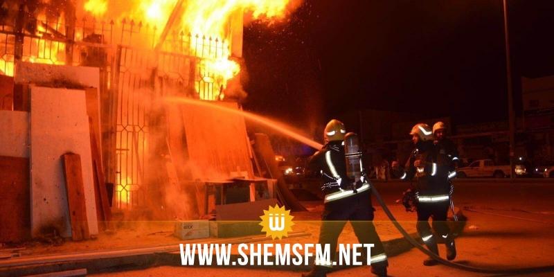 القيروان: السيطرة على حريق بمعمل لتعليب الزيت النباتي المدعم في الشبيكة