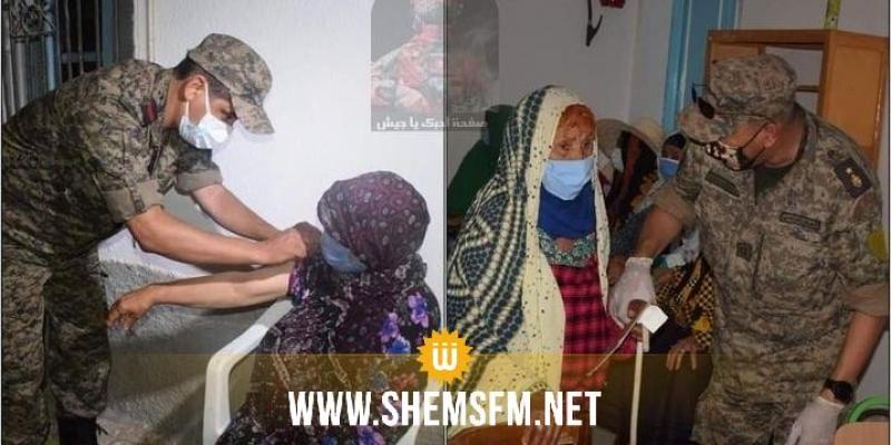 تطاوين:  الانطلاق في تطعيم أهالي الذهيبة والصمار بالجرعة الثانية من لقاح كورونا