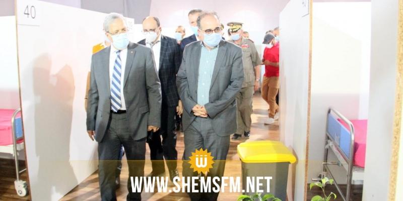 يتوفر على 50 سرير إنعاش و50 سرير أكسجين: إنطلاق إستغلال المستشفى الميداني المغربي بمنوبة