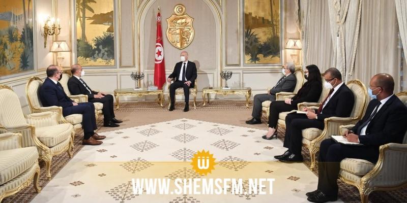 اللافي يؤكد الدعم المطلق للمجلس الرئاسي وحكومة الوحدة الوطنية في ليبيا لقرارات سعيّد