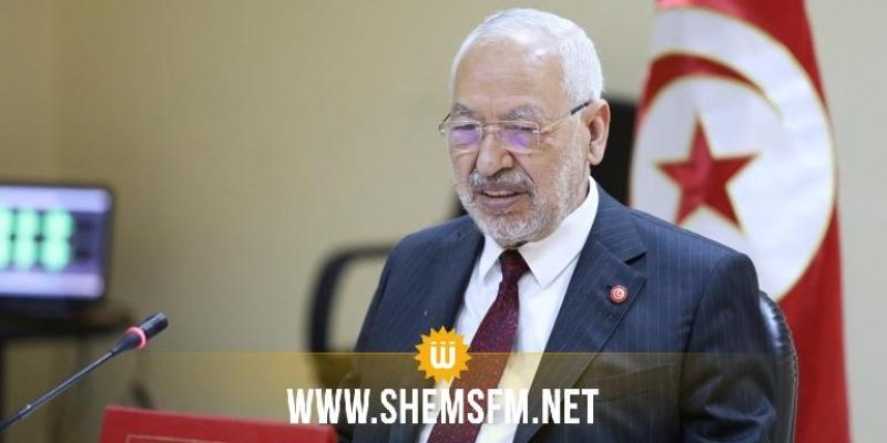 الغنوشي:'أنا متفائل بمستقبل الديمقراطية في تونس.. والإنقلاب سيفشل'