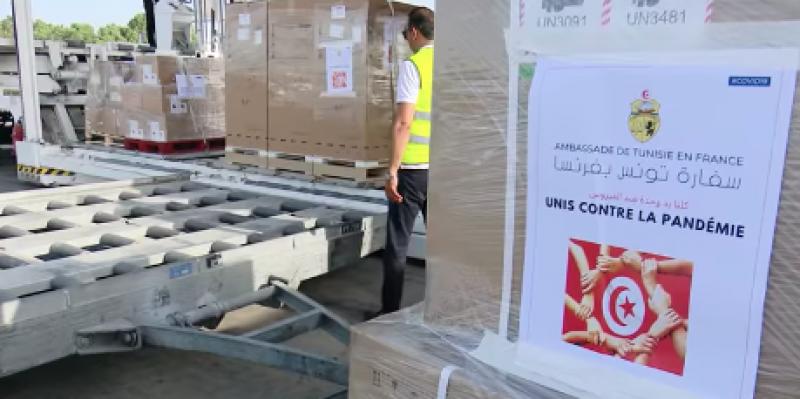 Coronavirus : La Tunisie réceptionne une aide médicale fournie par des pays amis