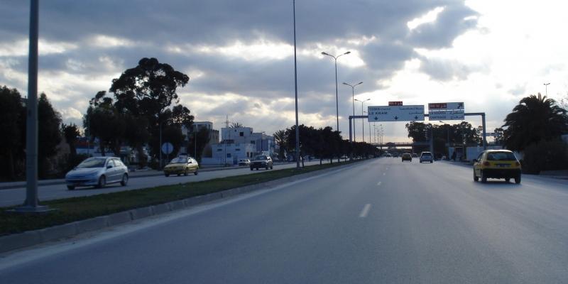 بداية من الغد: تحويل جزئي لحركة المرور بالطريق المؤدية للمرسى