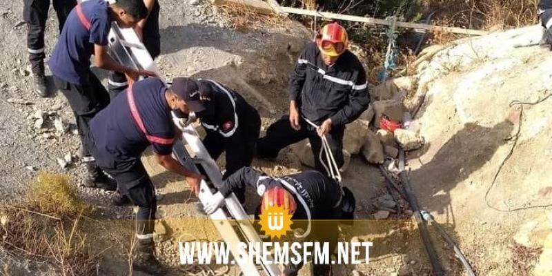 بعد مرور 30 ساعة: انتشال جثتي المواطنين اللذين توفيا داخل نفق في زغوان