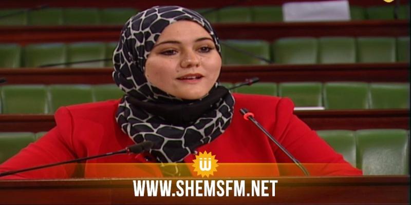 رباب بن لطيف:'' ترويع ومداهمات ليلية وتعد على الحقوق في طريقة إعتقال النواب''