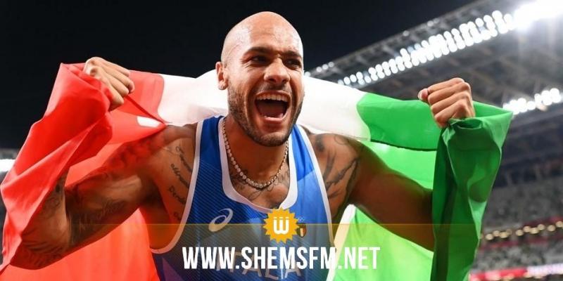 طوكيو2020+1(ألعاب القوى): لامونت أوّل إيطالي يحصد الذّهب في سباق ال100متر