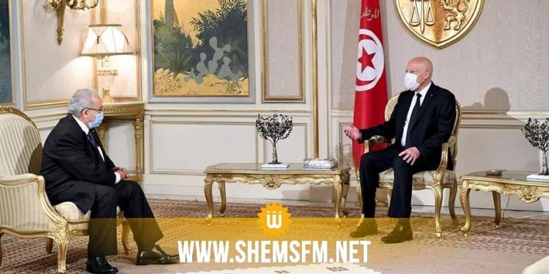 للمرة الثانية خلال أسبوع: سعيّد يستقبل وزير الخارجية الجزائري محملا برسالة من تبون