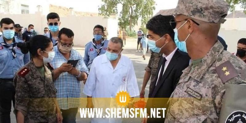 الصحة العسكرية: تطعيم 11.500 مواطن في قبلي خلال 8 أيام