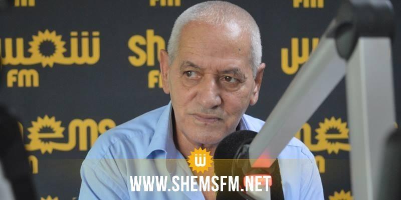 حسين العباسي:'' النائب المسؤول عن تعطيل نقل الفسفاط ترشح عن نداء تونس سابقا وكان يمول تحيا تونس''