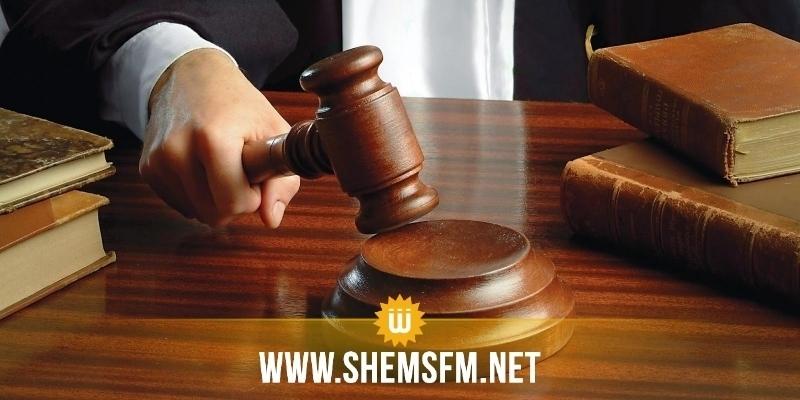بنزرت: أثناء مثول احد الموقوفين أمام المحكمة يعلم رئيس الجلسة باصابته بكورونا