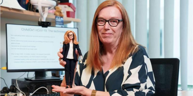 Une poupée Barbie à l'effigie de la co-créatrice du vaccin d'AstraZeneca contre le Covid