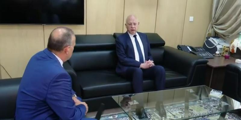 سعيد: 'يبحثون بسبل ملتوية للخروج من تونس'