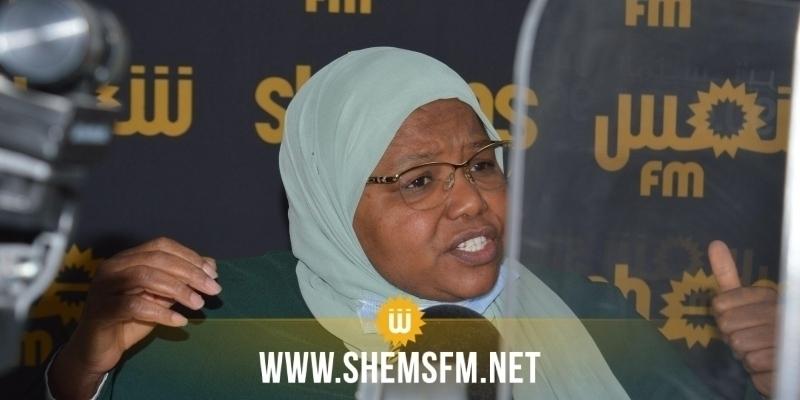 Jamila Ksiksi annonce se retirer de la session exceptionnelle du conseil Echoura