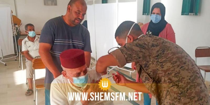 خلال 10 أيام:  14997 شخص تلقوا اللقاح المضاد لكورونا