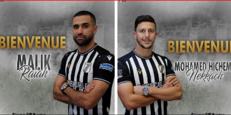 Hichem Nakach et Malik Riyeh officiellement au CSS
