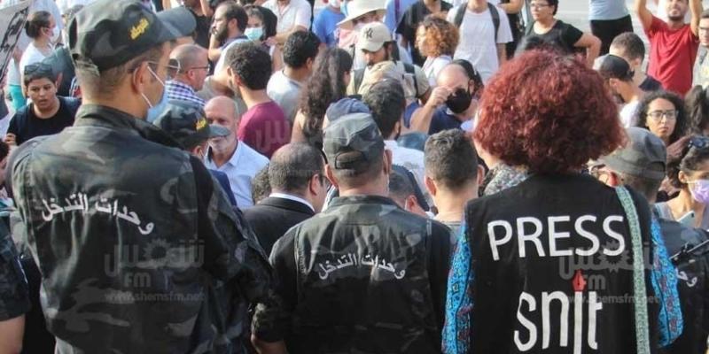 وحيد الفرشيشي: 'أغلب الحقوق انتُهِكت وحرية الإعلام تم المساس بها'